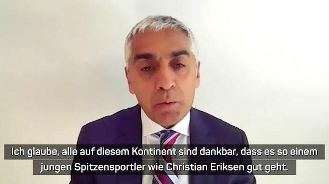 """Eriksens Ex-Arzt: Comeback """"wird schwierig"""""""