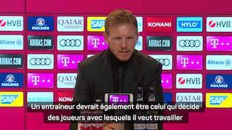 """Image d'aperçu pour Bayern - Nagelsmann : """"L'entraîneur doit partager les mêmes idées que le club"""""""
