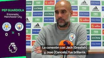 """Imagen de vista previa para Guardiola: """"Siempre sufrimos ante el Leicester"""""""