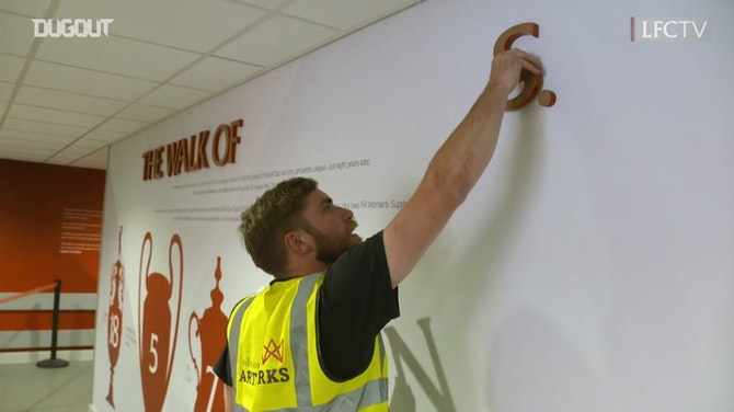 Preview image for Anfield's Walk Of Champions Updated