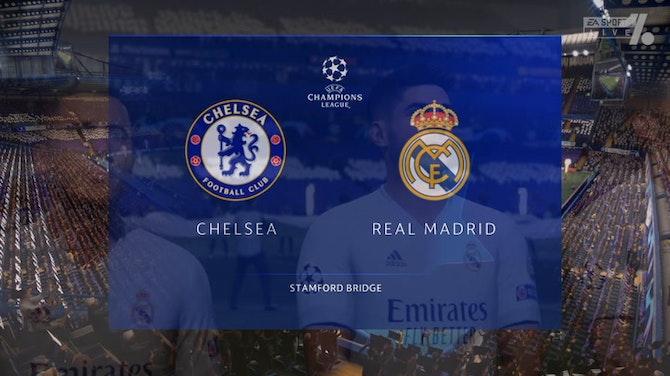 Imagen de vista previa para La vuelta entre Chelsea y Real Madrid, en Onefootball
