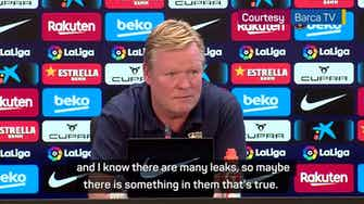 Preview image for Koeman on the brink at Barcelona?