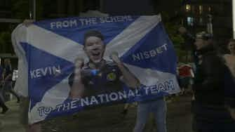 Anteprima immagine per Wembley, pari con l'Inghilterra e festa per gli scozzesi