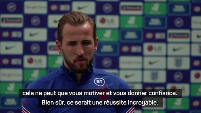 """Image d'aperçu pour Euro 2020 - Kane : """"Finir le travail dimanche"""""""