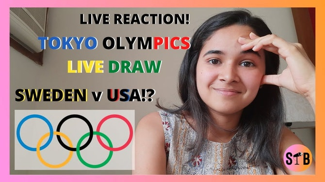 Preview image for REACTING to the Olympics Draw⚽️