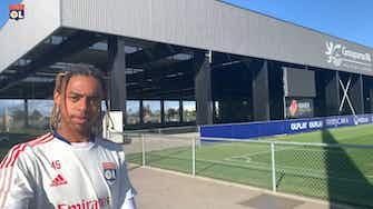 Vorschaubild für Olympique Lyonnais last training session before Brondby
