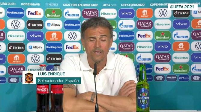 """Imagen de vista previa para Luis Enrique: """"El titular lo pongo yo: ¡Enjoy fútbol!"""""""