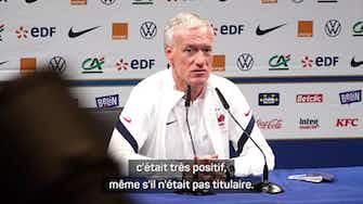 """Image d'aperçu pour Demies - Deschamps : """"Griezmann est heureux à l'Atlético"""""""