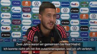 """Vorschaubild für Hazard nach Ramos-Abschied: """"Einer der Besten"""""""