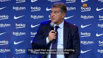 Preview image for Laporta calls for Barça fans to return to Camp Nou