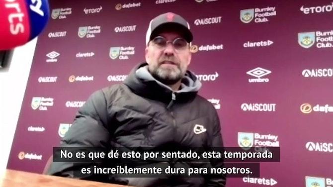 """Klopp: """"Es una locura que estemos tan cerca de clasificarnos a la Champions League"""""""