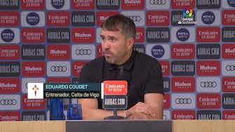 """Imagen de vista previa para Coudet, en titulares: """"Recibimos muy rápido el gol del empate"""""""