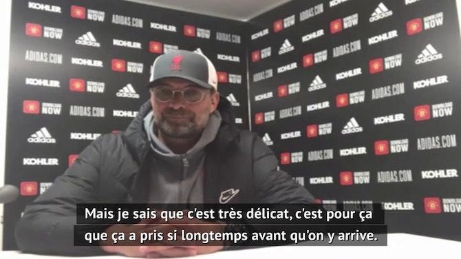 """34e j. - Klopp : """"Gagner tous nos matches pour être en Europe"""""""