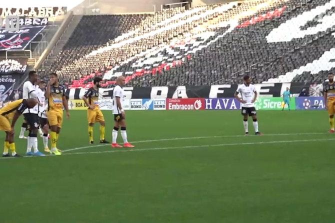 Fábio Santos and Mandaca's  goals against Novorizontino