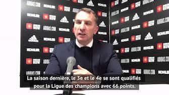"""Image d'aperçu pour 36e j. - Rodgers : """"C'est un grand pas vers la Ligue des champions"""""""