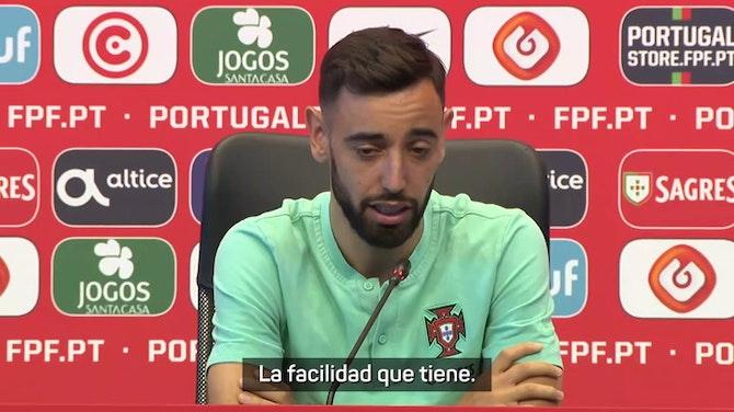 """Bruno Fernandes: """"Cristiano es decisivo"""""""