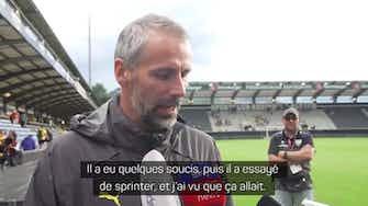 """Image d'aperçu pour Dortmund - Rose est taquin avec Haaland : """"Tu es en train de me tuer Erling, réfléchis à l'avance à ce que tu veux"""""""