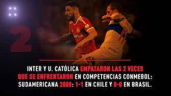 Imagen de vista previa para Conmebol Libertadores: La previa de Internacional vs Universidad Católica en datos
