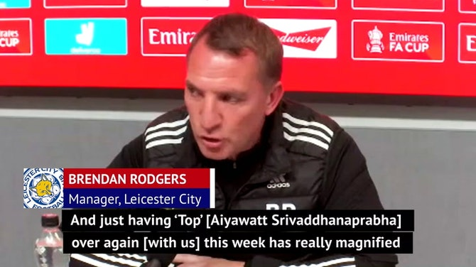 Rodgers hoping to win the FA Cup for late Leicester owner