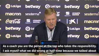 Preview image for Koeman can't explain Barca blowing leads at Levante
