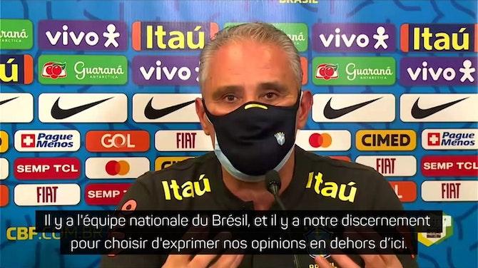 Image d'aperçu pour  Copa America 2021 - Le Brésil de Tite se prépare à jouer malgré les réserves sur la Copa America