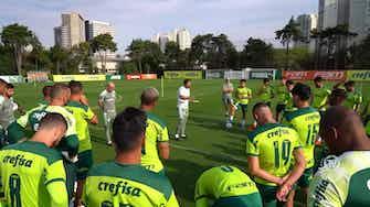 Imagem de visualização para Palmeiras finaliza preparação para duelo contra o Flamengo