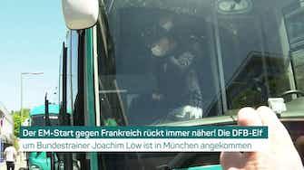 Vorschaubild für Vor EM-Start: DFB-Team in München angekommen