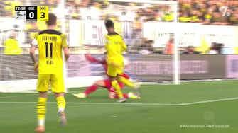 Imagem de visualização para Bellingham enfileira adversários e marca golaço contra o Arminia Bielefeld; confira