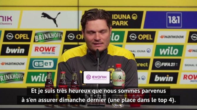 Image d'aperçu pour Dortmund - Terzic règle ses comptes avec certains journalistes