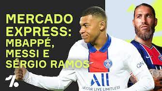 Imagem de visualização para MBAPPÉ não fica no PSG! Messi SEM CONTRATO e Ramos na França!