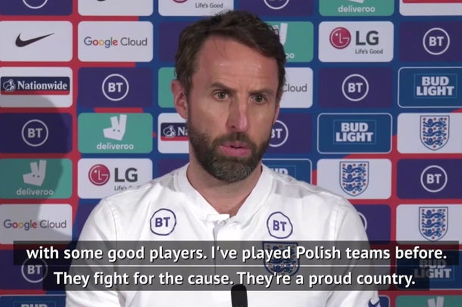 Poland match a 'key game' in qualification - Southgate
