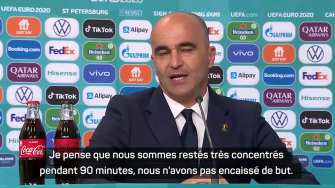 """Groupe B - Martinez : """"Le tournoi de Castagne est terminé"""""""