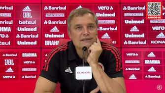 """Imagem de visualização para Aguirre enaltece Yuri Alberto: """"Jogador de nível top"""""""