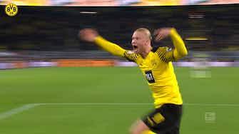 Imagen de vista previa para El decisivo gol de Haaland en el descuento ante el Hoffenheim