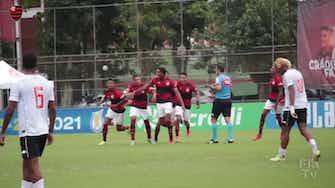 Imagem de visualização para Flamengo vence o Vasco a avança às semifinais do Brasileiro sub-20; veja os gols