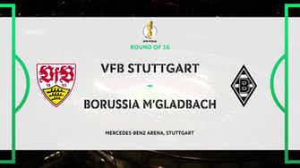 Image d'aperçu pour DFB Pokal Highlights: Stuttgart 1-2 Borussia Mönchengladbach