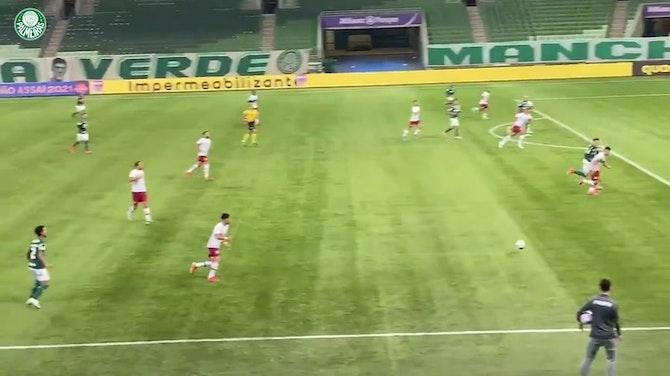 Imagem de visualização para Veja o gol da vitória do Palmeiras sobre o Fluminense no Allianz Parque