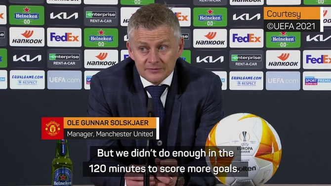 Preview image for Loss means it's an unsuccessful season - Solskjaer