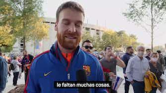 Imagen de vista previa para La afición del Barça se pronuncia tras perder el Clásico