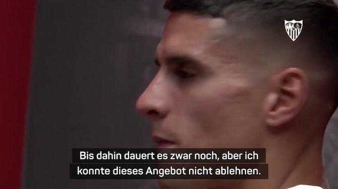 """Vorschaubild für Lamela verrät Geheimnisse über """"Rabona""""-Trick"""