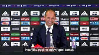 """Anteprima immagine per Juve-Milan 1-1, Allegri ammette: """"Ho sbagliato i cambi"""""""