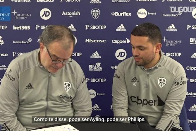 Bielsa confirma Leeds para duelo contra o West Ham; Rodrigo será titular