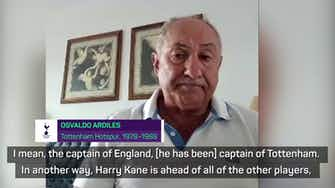 Preview image for Ardiles hoping Kane stays at Spurs for a 'long time'