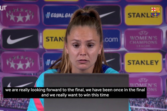 Lieke Martens: 'The most important game of the year is on Sunday'