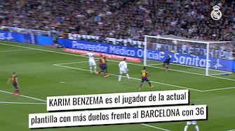Imagen de vista previa para La experiencia de jugadores del Real Madrid en el Clásico