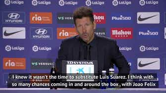 Preview image for Simeone always had faith in Suarez as he scores dramatic winner