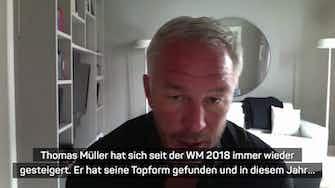 """Vorschaubild für Andersson: Müllers DFB-Comeback """"in Topform"""""""
