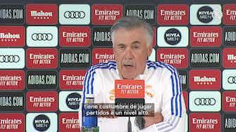 Imagen de vista previa para Carlo Ancelotti: 'La plantilla está llena de calidad y creatividad'