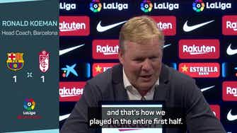 """Preview image for """"This Barça is not the Barça of 8 years ago"""" - Koeman"""