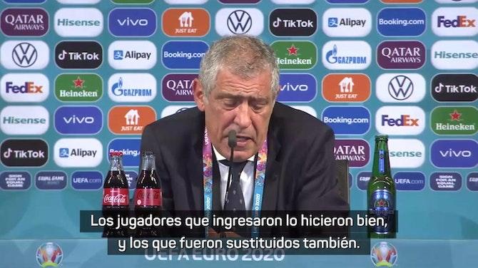"""Fernando Santos: """"Ante Alemania será un partido a matar o morir"""""""